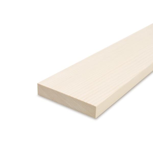 Glattkantbrett - Kiefer/Fichte gehobelt - 19 mm x 120 mm x 600mm