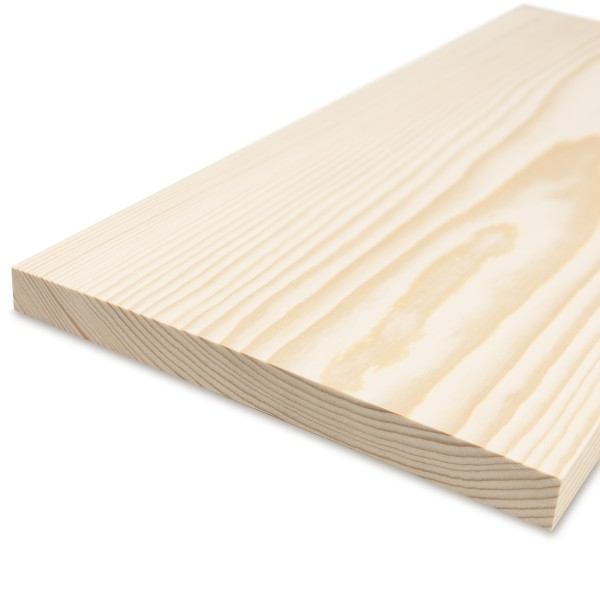 Glattkantbrett - Kiefer/Fichte gehobelt - 19 mm x 250 mm x 600mm