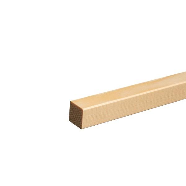 Quadratleiste Vierkantleiste Bastelleiste Abdeckleiste Fichte GEÖLT 20mm