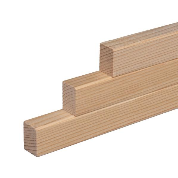 Vorsatzleisten Deck- Abschlus- Sockelleisten Fichte Massivholz 20x15x2300mm
