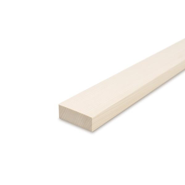 Glattkantbrett - Kiefer/Fichte gehobelt - 19 mm x 60 mm x 600mm