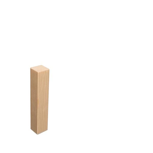 Universal Eckblock Ecke Eckturm Eckstab Fichte LACKIERT 105mm