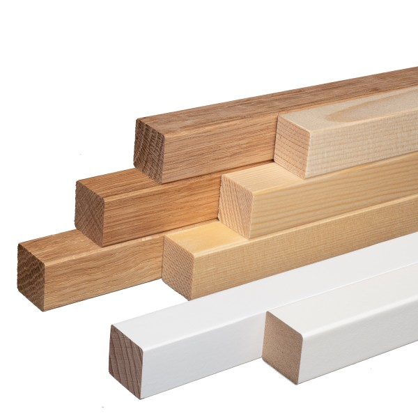 Quadratleisten Vierkantleisten Bastelleisten Abdeckleisten 20x20x2300mm *NEU*