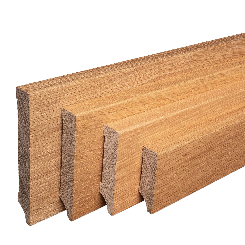 echtholz sockelleisten wei lackiert buche massiv berliner profil sparpaket ebay. Black Bedroom Furniture Sets. Home Design Ideas